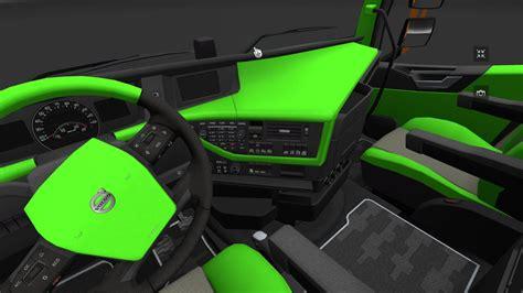 volvo fh16 2012 lime green and black interior modhub us
