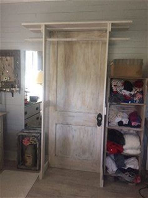 Free Standing Entryway Closet by Free Standing Closet Made With An Door Hometalk