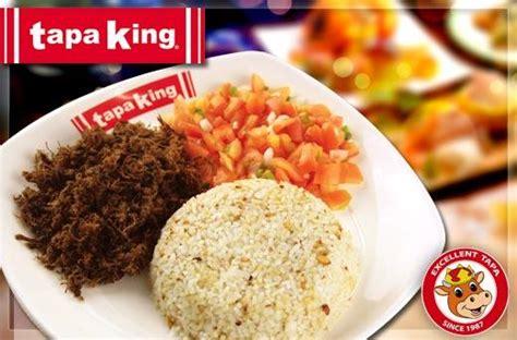 tapa king  makati tender tapa flakes salsa garlic rice