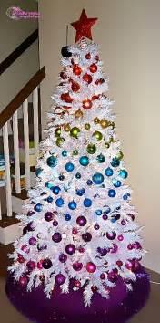 Christmas tree christmas tree lights christmas balls decoration on