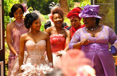 generations dineo and phenyo s wedding pics generations