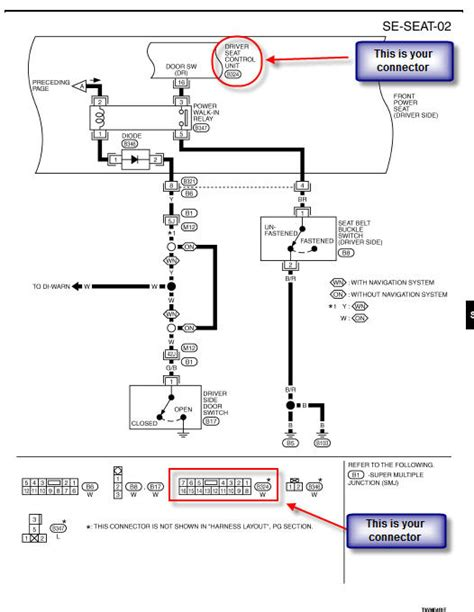 2004 g35 removing connector and the wires wiring diagram