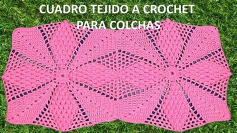 como tejer crochet para colcha en cuadros cuadro tejido a crochet para colchitas de bebe o para camas