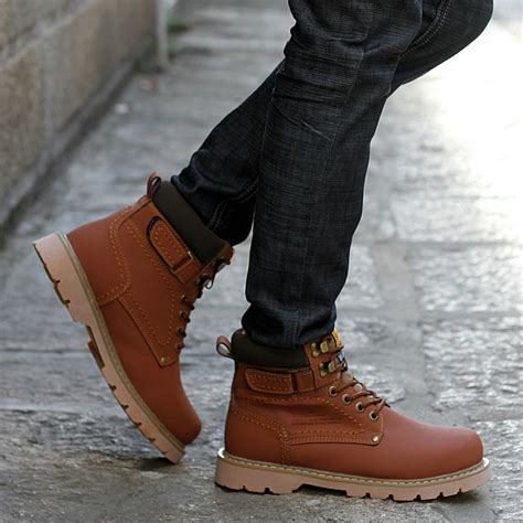 mens fashionable boots fall mens boots yu boots