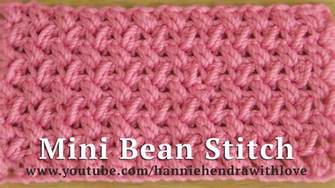 tutorial merajut crochet crochet tutorial merajut motif kacang mini mini bean
