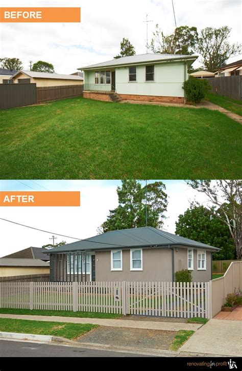 house facade renovation before and after facade renovation see more exciting projects at www renovatingforprofit com au