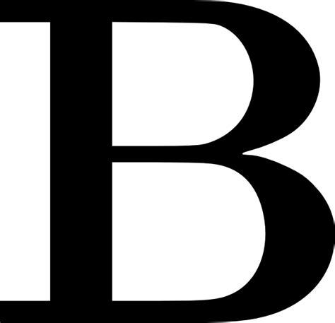 Letter B Clipart cyrillic letter b clip at clker vector clip
