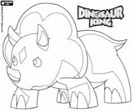 dibujos infantiles zoe juegos de dinosaur king dino rey para colorear imprimir