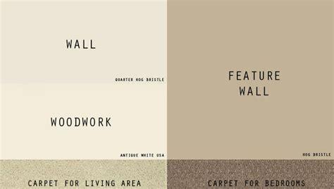 colours that match hog bristle reno tiles carpet paint colour