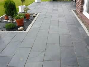 natursteinplatten terrasse naturstein verlegen stonenaturelle ag stilvolle
