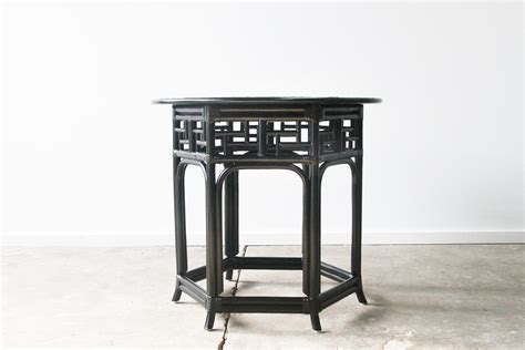 Handcrafted Table Ls - bespoke ming console rattan commercial furniture supplier