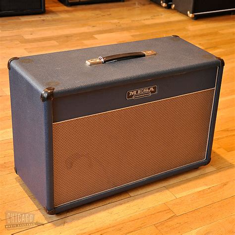 Mesa Boogie Lonestar Cabinet by Mesa Boogie 2x12 Lonestar Cabinet Blue Used Reverb