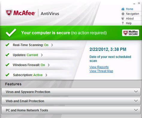 Antivirus Mcafee Security mcafee serial number