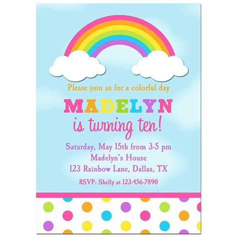 printable birthday cards rainbow free rainbow birthday invitations bagvania free