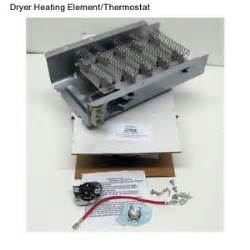 Electric Clothes Dryer Not Heating Electric Dryer Heating Element Thermostat Roper Whirlpool