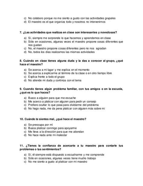 anexo 3 cuestionario de preguntas cerradas - Preguntas Cerradas Encuesta