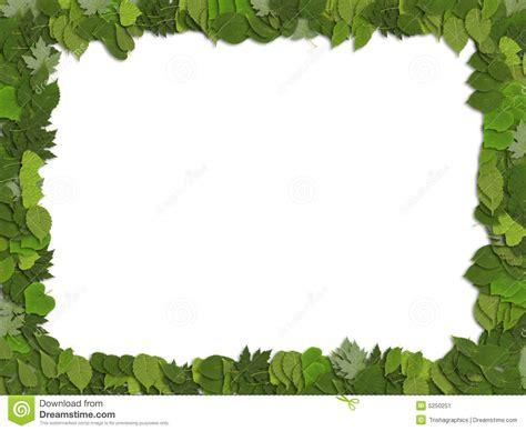 frame leaves stock image image 5250251