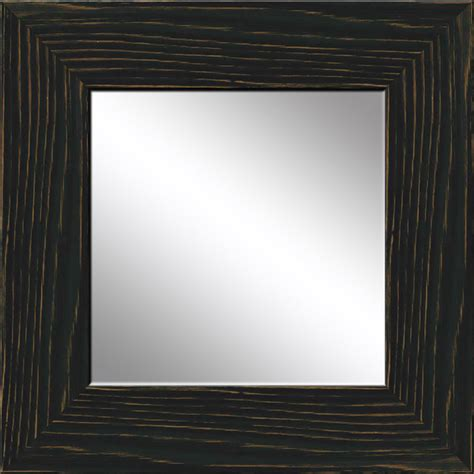 Uttermost Com Mirrors Black Recovered Wood Mirror Rustic Wall Mirrors By