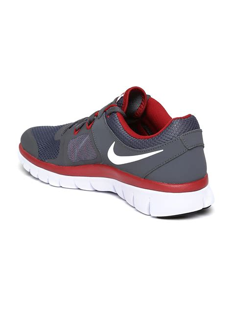 boy sports shoes myntra nike boys grey flex 2014 rn gs running shoes 683962