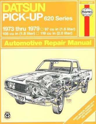 car repair manuals online pdf 1979 nissan 280zx user handbook datsun pickup 620 series repair shop manual 1973 1979