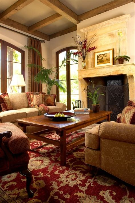 15 awesome tuscan living room ideas tuscan living room with stone fireplace and note the