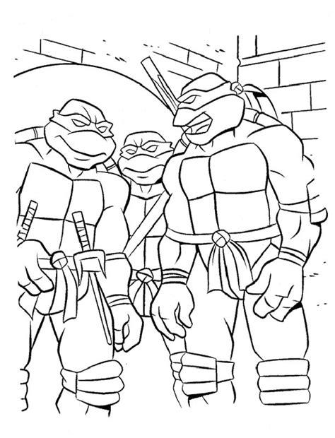 teenage mutant ninja turtle sheets az coloring pages