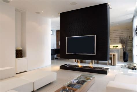 tv in middle of room modern interior fireplaces tv walls divider and tvs