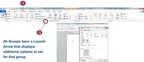 layout tab word 2010 free word 2010 tutorial from officeskills org