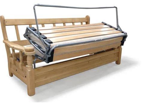 divano letto rustico legno divano letto tre posti rustico in legno massello in