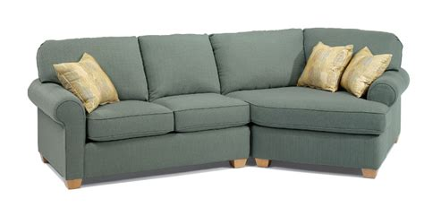 sectional with cuddle corner flexsteel stationary ferrin s furniture great falls