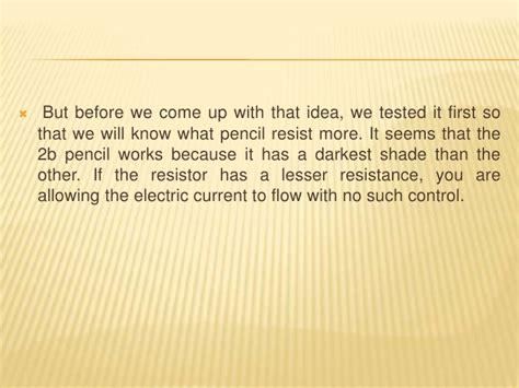 pencil resistor hypothesis pencil resistor hypothesis 28 images materials hypothesis pencil resistor by hillgrade 8 mod