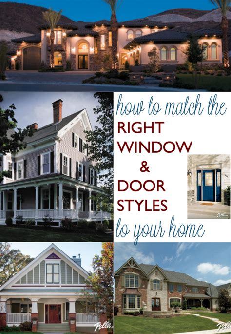 match   window  door styles   home