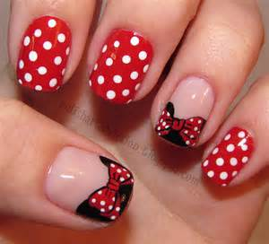 Red And White Nail Art Designs » Ideas Home Design