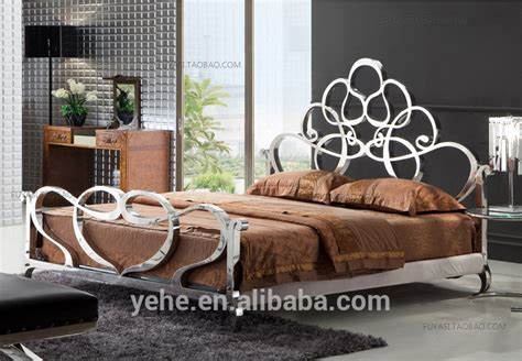 stainless steel bedroom furniture contemporary bedroom stainless steel venus bed super king size bed royal