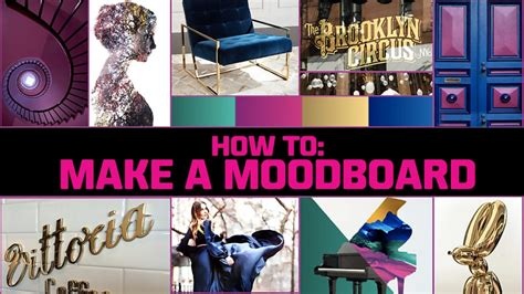 how to make a how to make a mood board