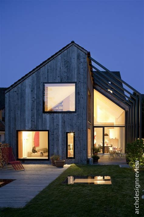 architecture  design pitched roofs  modern architecture