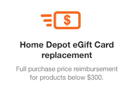 the home depot protection plan home depot egift card replacement