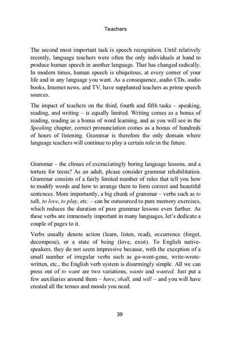 Thank You Speech Sle For Teachers the wordbrain