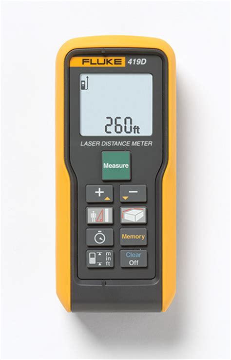 Fluke 414d Espr Laser Distance Meter fluke 419d medidor l 225 ser de distancia 80m