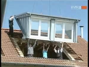 Premade Dormer Windows Dachgauben Einbau An Einem Tag Mit Sps Gauben