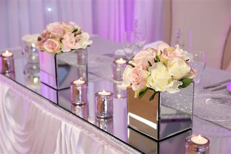 Square Mirror Vases Weddings square mirrored vase beyond expectations weddings events