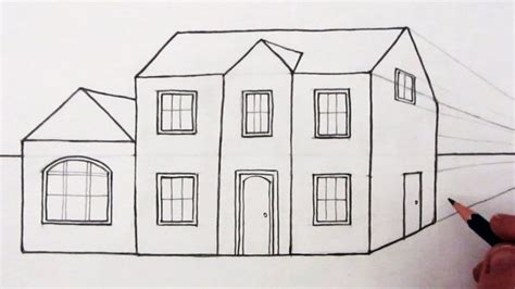 how to draw houses house drawing pictures to pin on pinterest pinsdaddy