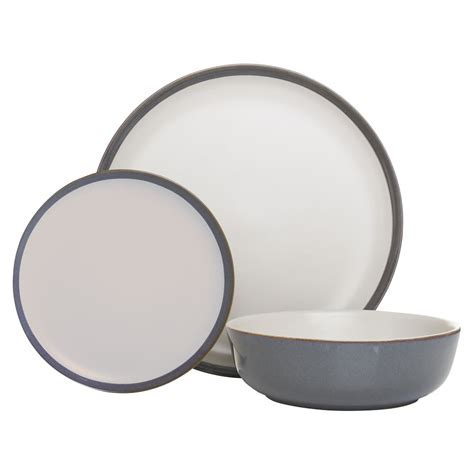 7 Cool Dinner Sets by Wilko Dinner Set 12pce Reactive Glazed Cool Grey At Wilko
