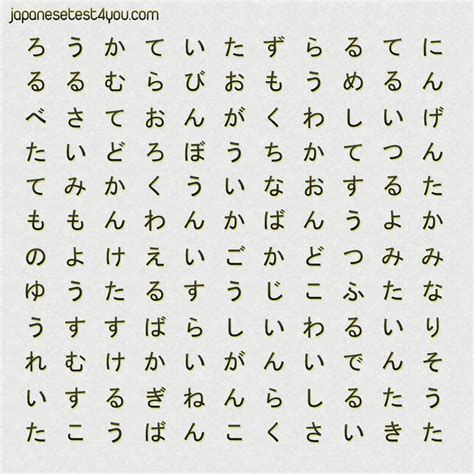 how many words can a learn 17 best images about japan on hiragana chart study and miss