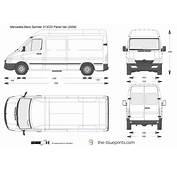 The Blueprintscom  Vector Drawing Mercedes Benz