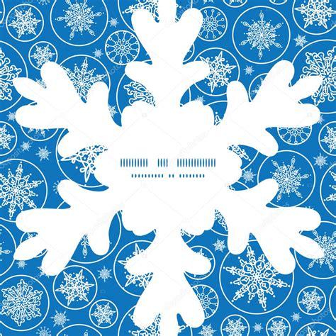 plantilla copos navidad vector caen copos de nieve navidad copo de nieve silueta