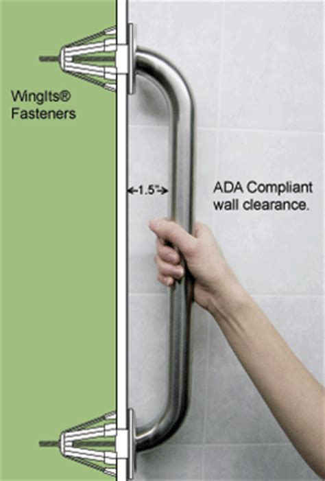 install grab bars in fiberglass shower handicap safety handrails bathroom bedroom safety steps