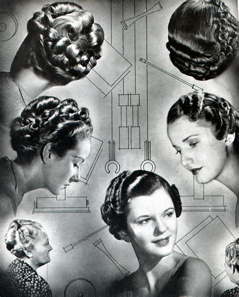 Vintage Hairstyles History | gt vintage hair a few basics wearing history 174 blog