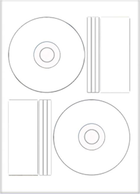 pressit label template gloss cd dvd labels inline or offset neato or pressit style ebay