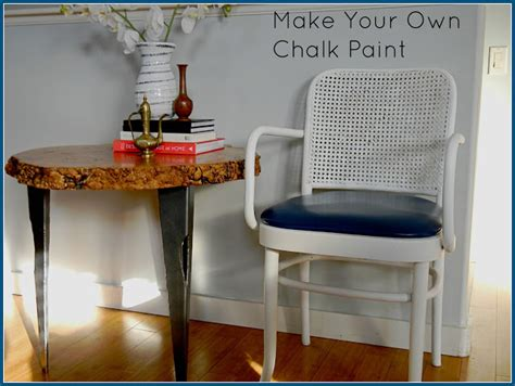 make your own chalk paint the design pages make your own chalk paint